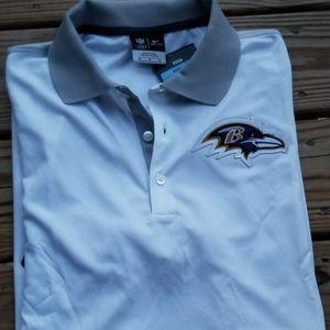 Baltimore Ravens Nike Polo, Size M
